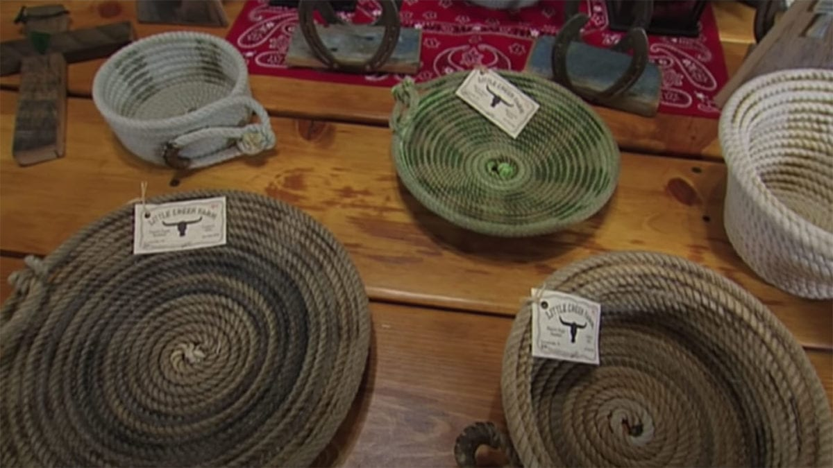 Cowboy Rope Baskets on NPT's Tennessee Crossroads