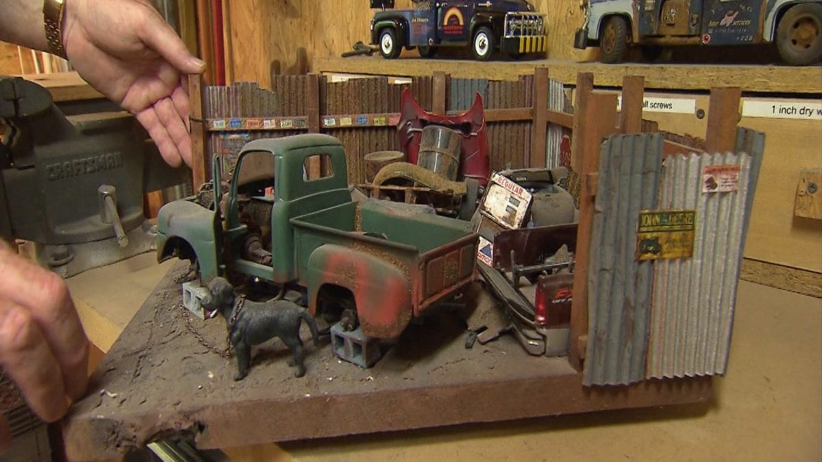 Andy's Dioramas on NPT's Tennessee Crossroads