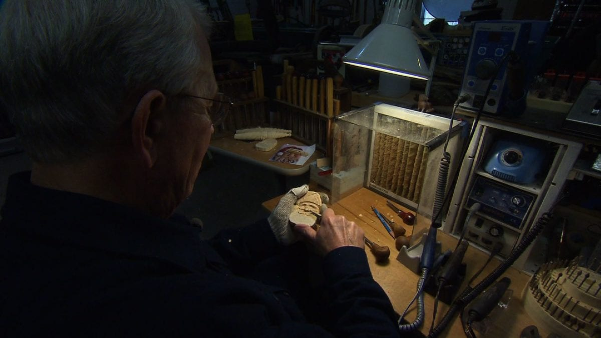 Jim Cohron - Woodcarver on NPT's Tennessee Crossroads