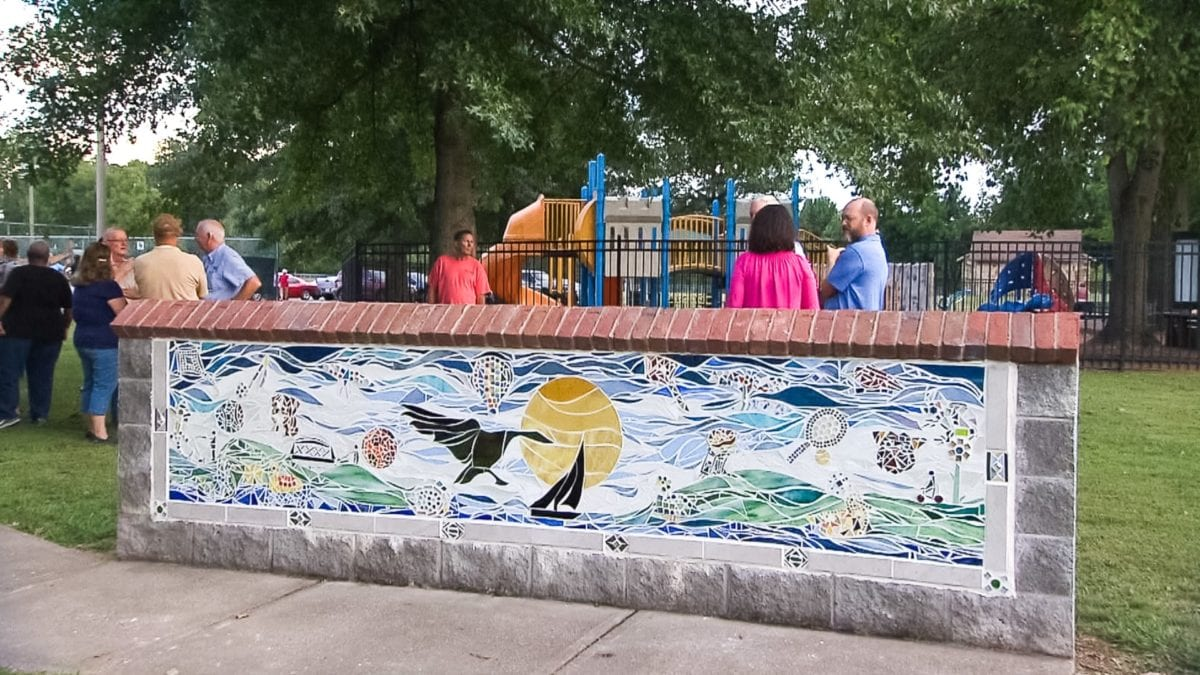 Memorial Park Mosaics on NPT's Tennessee Crossroads