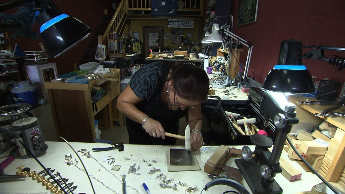 Metal Jewelry Artist on NPT's Tennessee Crossroads