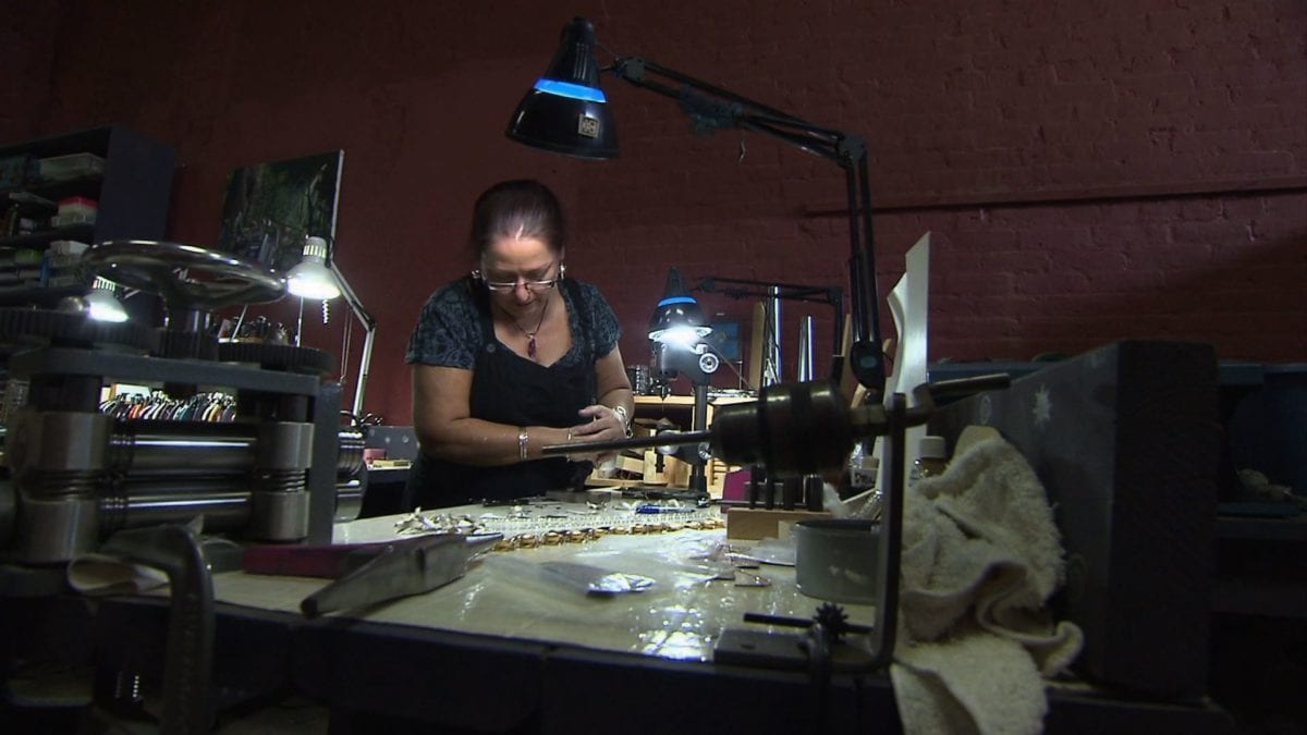 Susan Thornton - Metal Jewelry Artist on NPT's Tennessee Crossroads